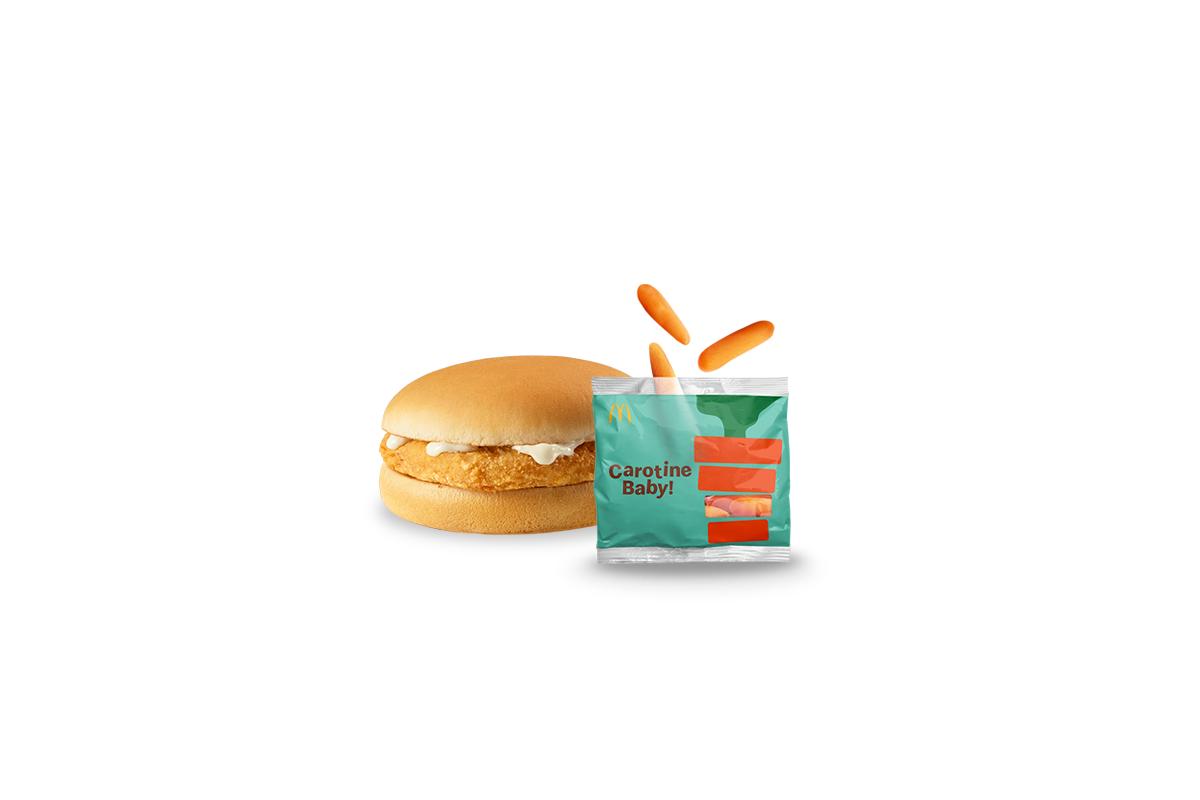 Happy Meal Chickenburger e Carotine