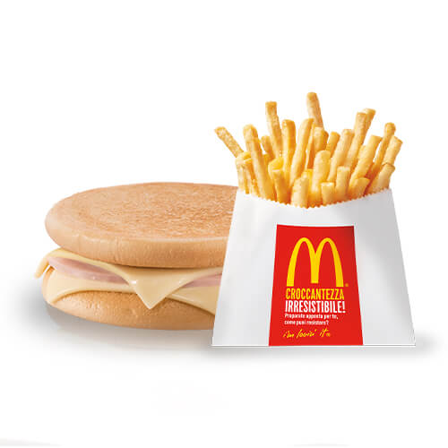 Happy Meal McToast e Patatine