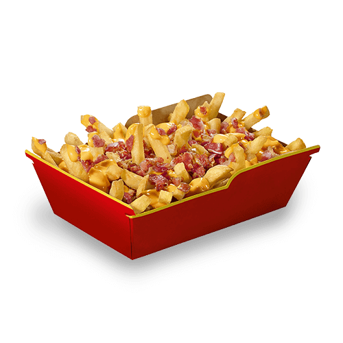 Le Ricche Fries Cheese&Bacon