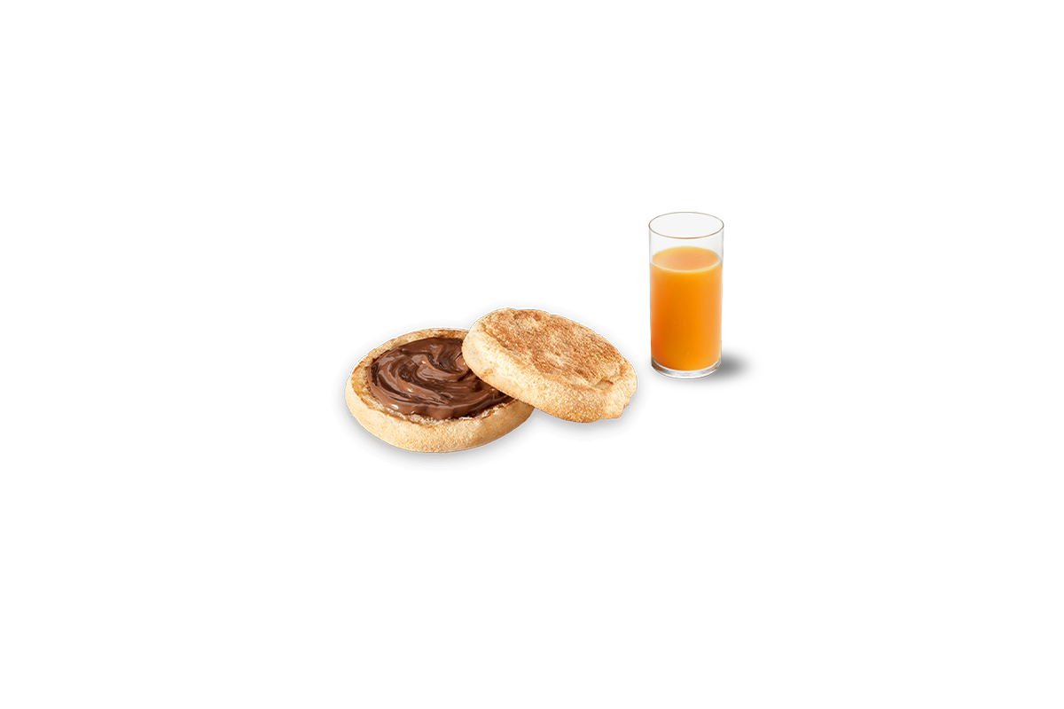 Menu McCrunchy Bread con succo di frutta